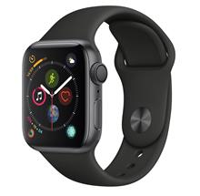 Apple Watch 4 GPS 40mm Space Gray Aluminum Case With Black Sport Band
